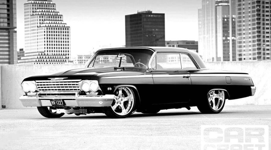 1962 Black Chevrolet Impala