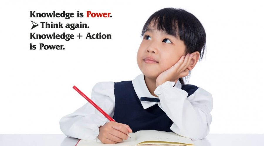 Knowledge Is Power Reinforced
