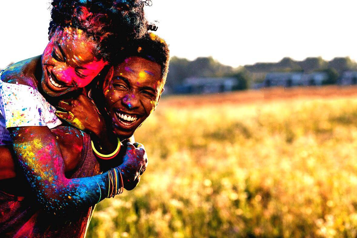 Enjoy The Colors Of Life