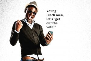 Young Black Men Let's Get Out The Vote