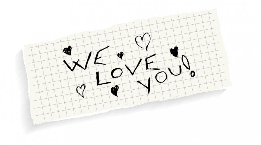 In Fact We Do Love You