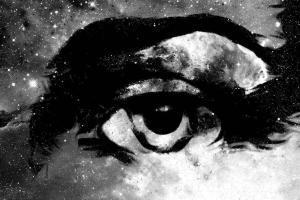 The Divine Eye [Homage to God] Jesus Eye In Cosmic Space