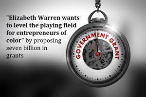 Elizabeth Warren's 7 Billion Grant For Disadvantaged Minorities