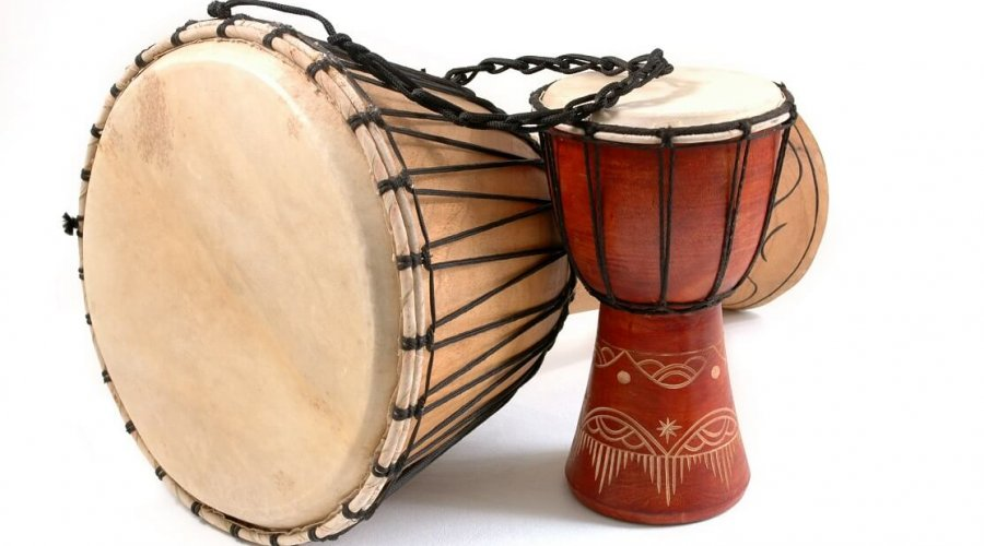 Drums With Deep African Roots