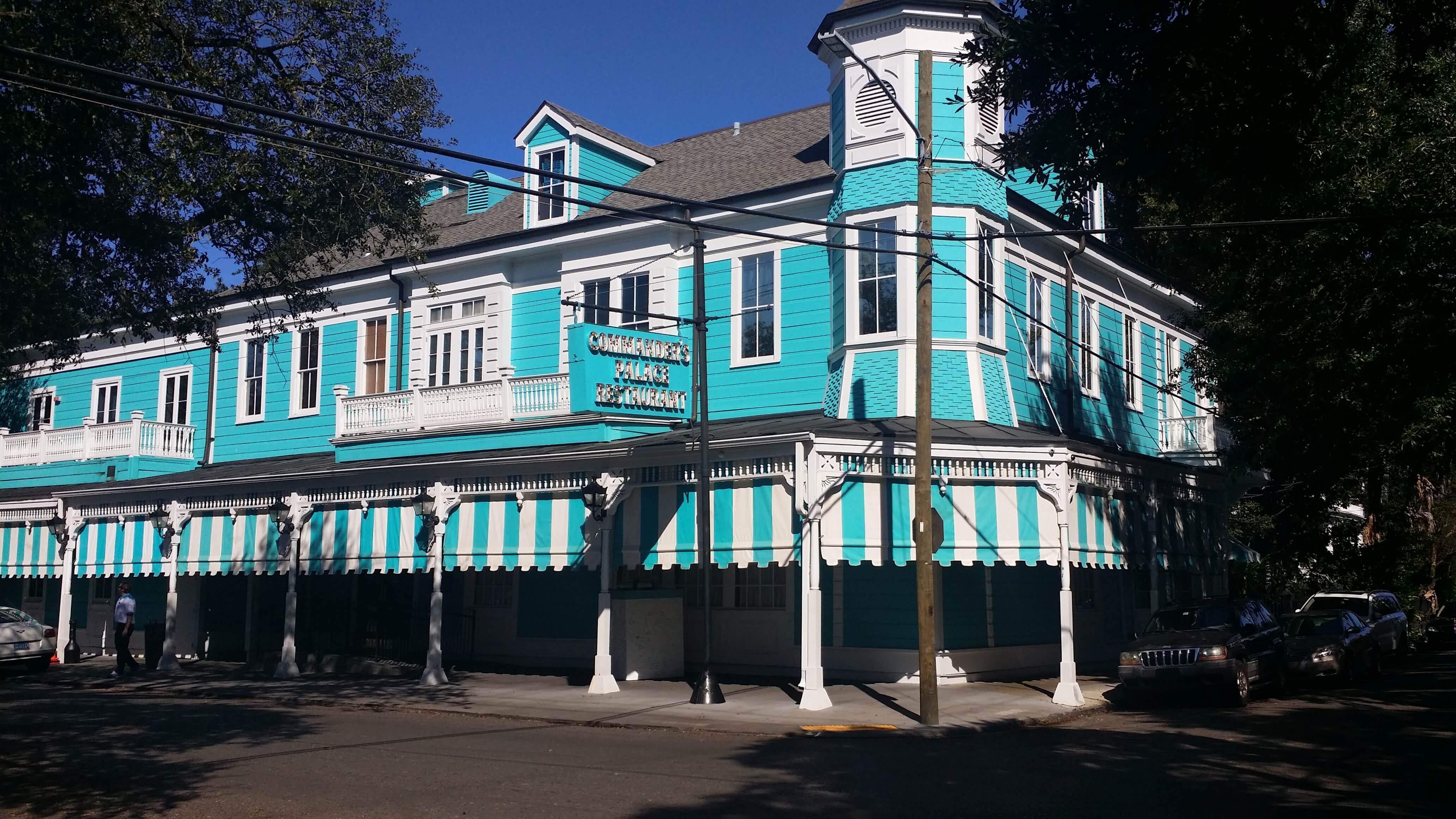 Famous Commander's Palace Restaurant New Orleans