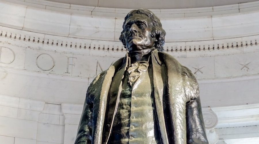 His Grandfather Was A Slave Of Thomas Jefferson