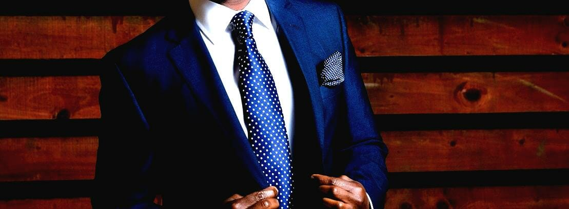 Fashion: Dressed In Blue Suit