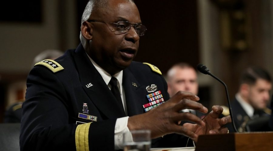 Defense Secretary Nominee Lloyd Austin
