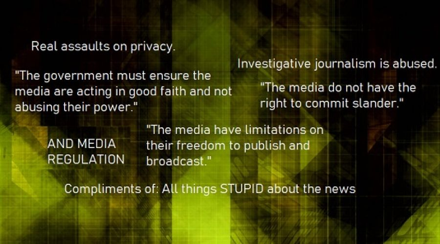 """""""Freedom Of The Press Is Not Absolute"""""""